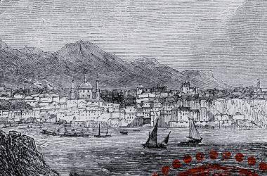 Trabzon gravür