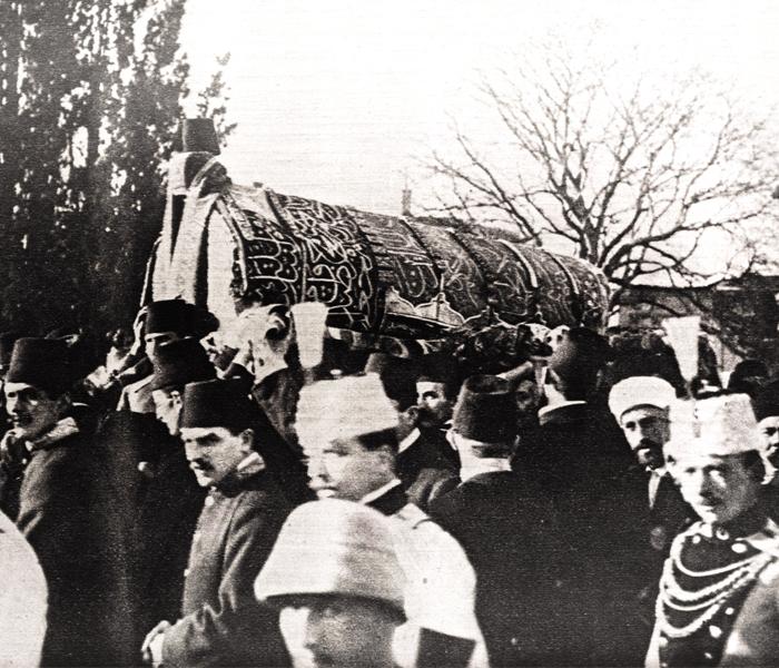 Abdülhamid Han cenaze merasimi