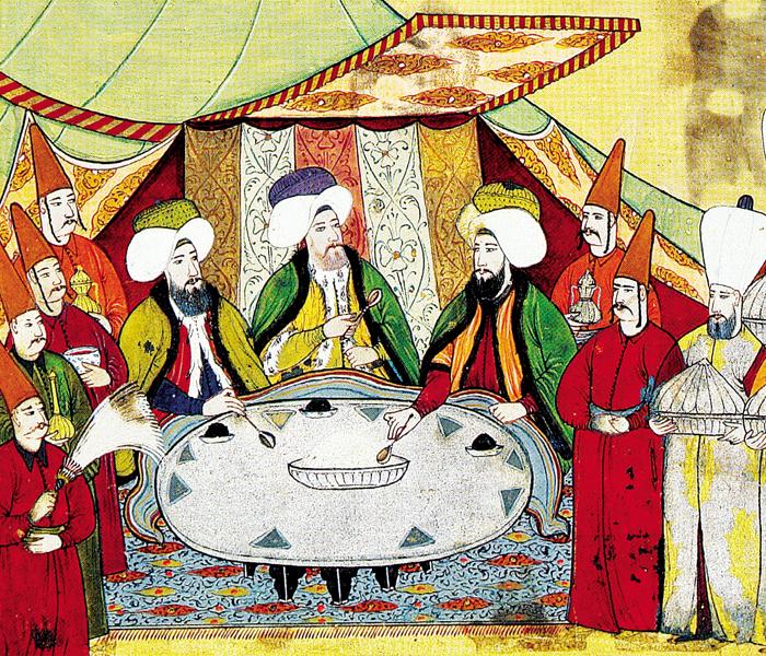 Osmanlı'da yemek ziyafeti